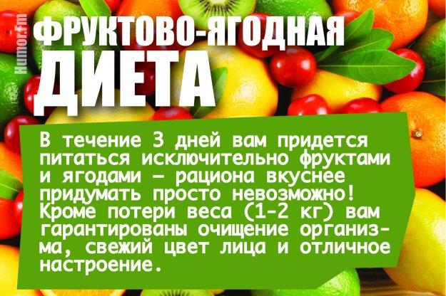 Выход Из Фруктовой Диеты.