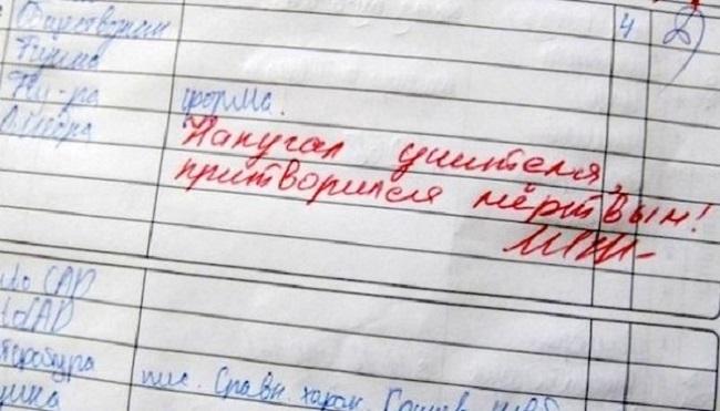 Картинки по запросу смешные записи в дневниках фото