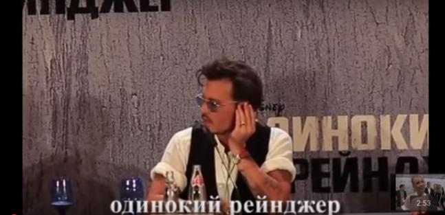 Голливудские звезды говорят по-русски