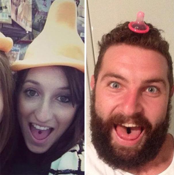 Этот бородатый чувак делает невероятно смешные пародии на фотки девушек с сайта знакомств.