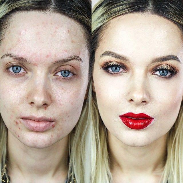 Когда тонна косметики - необходимая мера