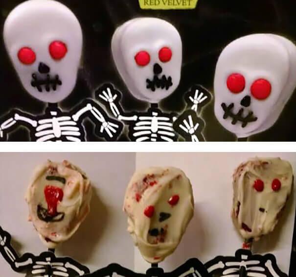 21 кулинарный шедевр на Хеллоуин: ожидание и реальность.
