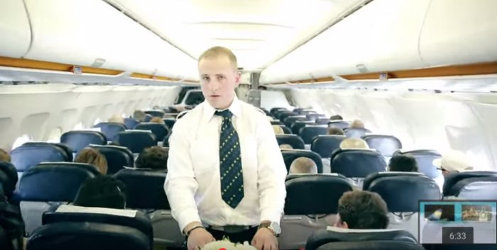 То, что произошло на борту этого самолета, запомнится пассажирам на всю жизнь!