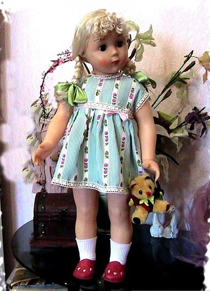 советские картинки с куклами столько