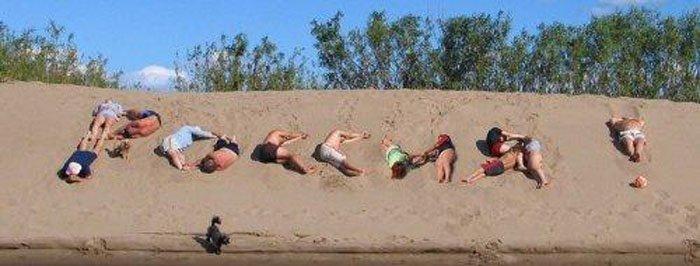 фото как отдыхают русские