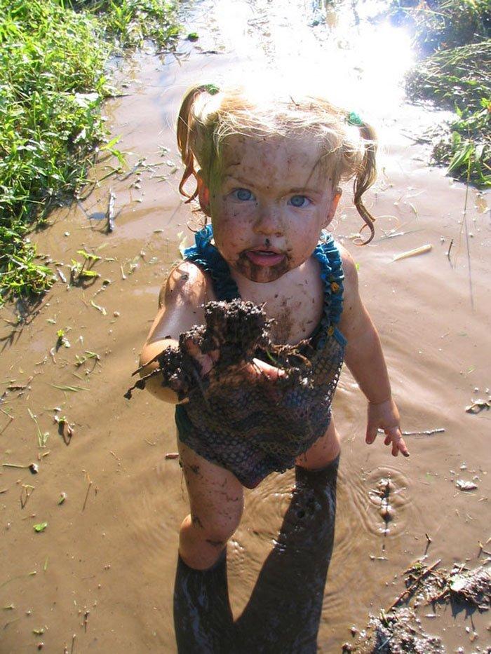 Смешные картинки дети в грязи