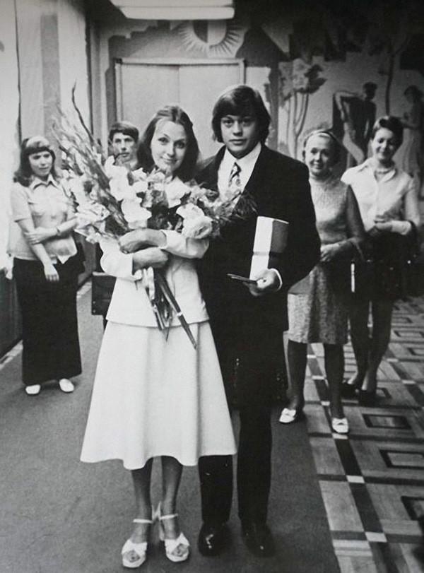 Свадебные фото советских знаменитостей