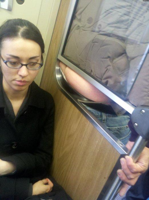 Приключения русских…! Наши в общественном транспорте!