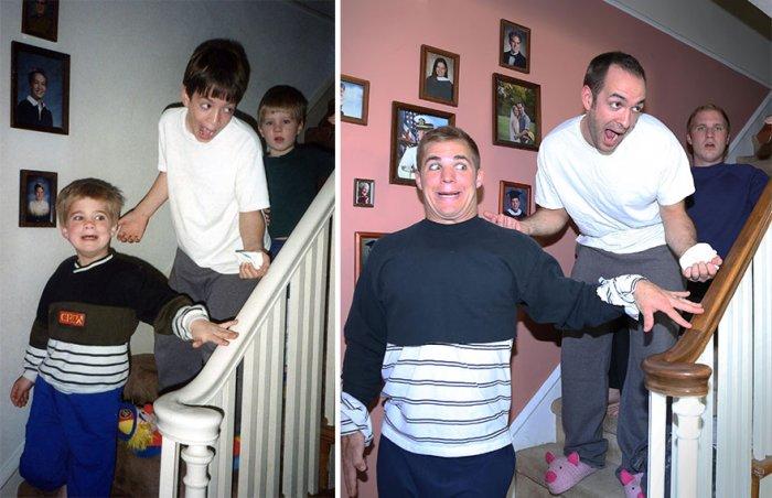 Три брата решили устроить маме оригинальный подарок