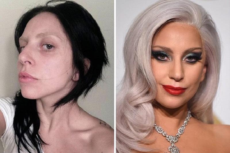 26 снимков знаменитостей без макияжа!