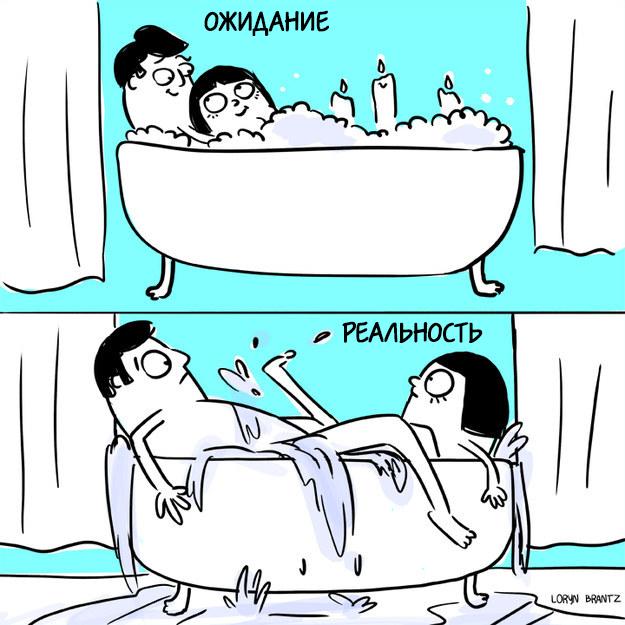 Позиции для секса в ванной фото