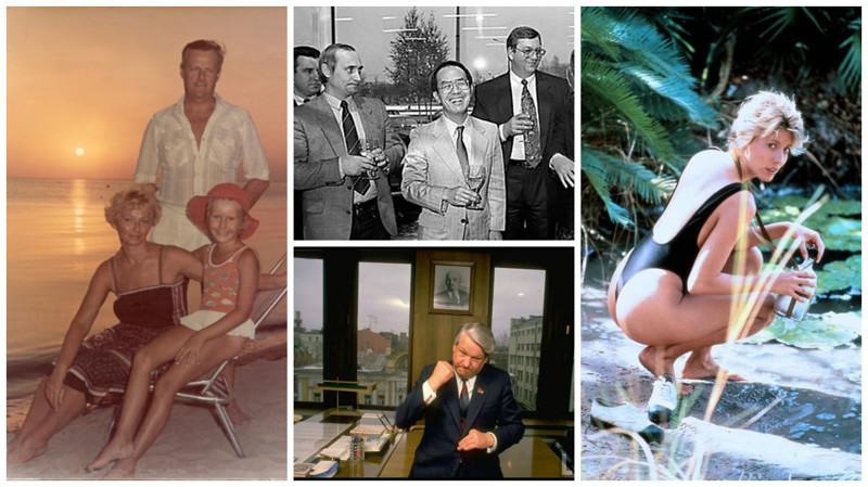 Редкие фотографии знаменитостей и политиков, какими вы их еще не видели!