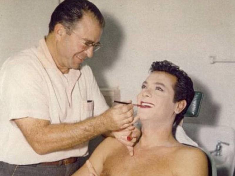 """Редкие архивные снимки Мэрилин Монро.. """"Закулисье"""" фильма """"В джазе только девушки""""."""