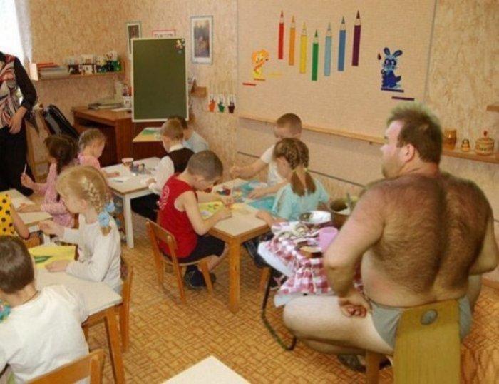 Особенности национального детского садика!