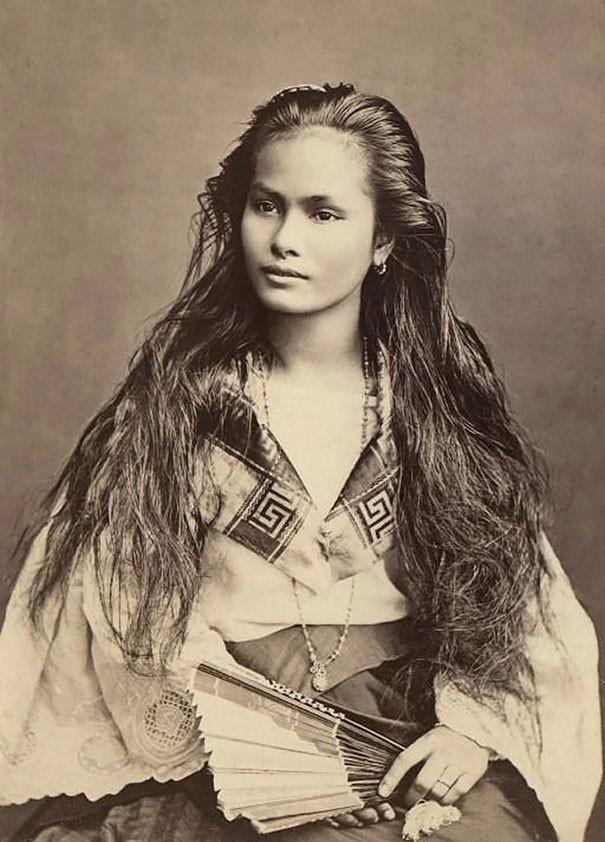 Прекрасная красота женщин прошлого 1900-1910 годов