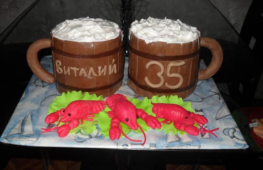 Торт для мужчины на день рождения фото прикольные