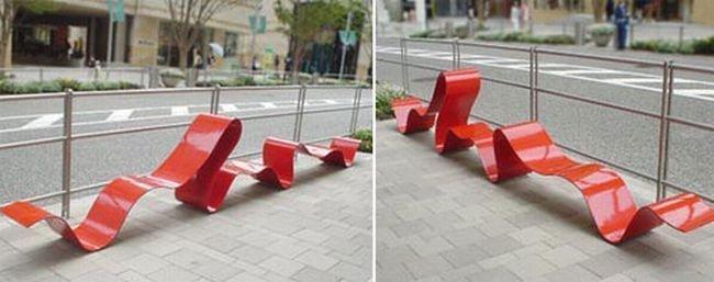 Самые потрясные и креативные лавочки и скамейки из разных стран!