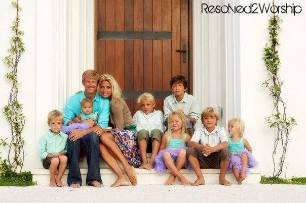 Потрясающе прекрасные многодетные мамы!