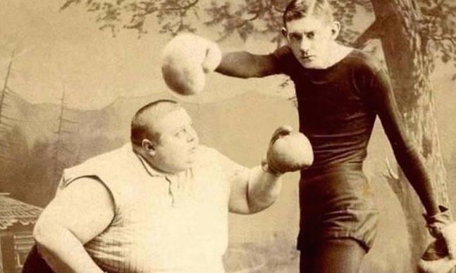 16 фотографий циркачей прошлого, от которых кровь стынет в жилах!