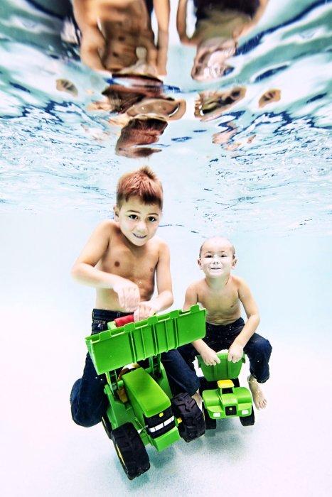 Безумно милые создания под водой!