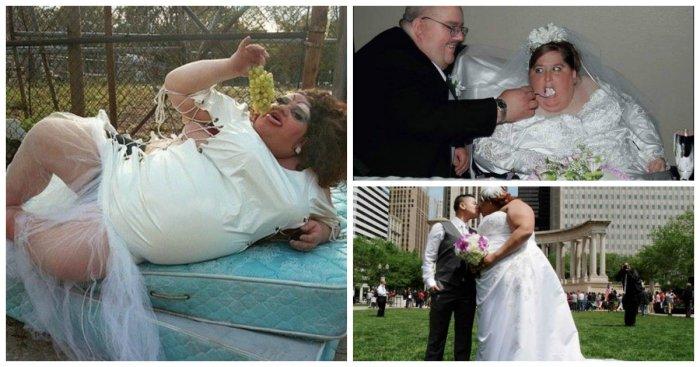 16 ჯოჯოხეთური ქორწილის სურათი, რომლის ნახვის შემდეგაც ქორწილზე უარს იტყვი. ასეთ პატარძალზე მითუმეტეს.