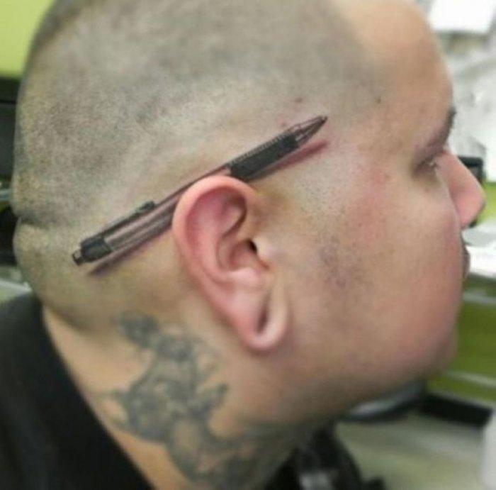 Эти ужасные татуировки сведут вас с ума!