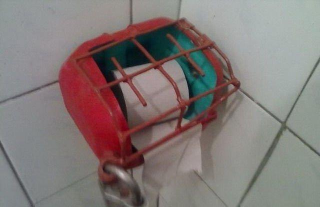Туалетная бумага - незаменимая вещь!