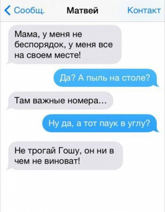 Самые смешные переписки с родителями!
