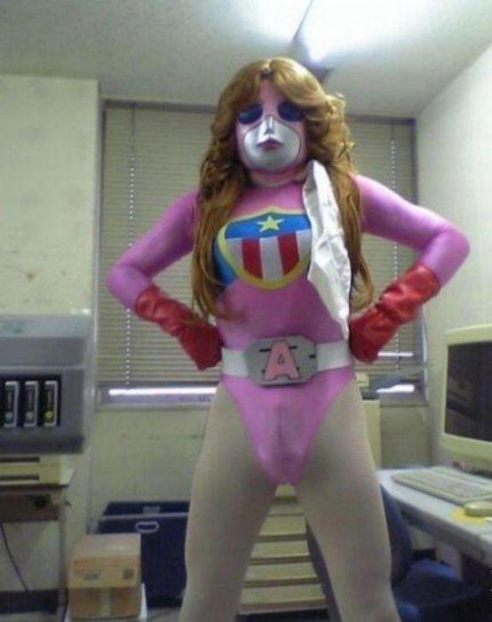 Сумасшедшие костюмы, которые вас шокируют!