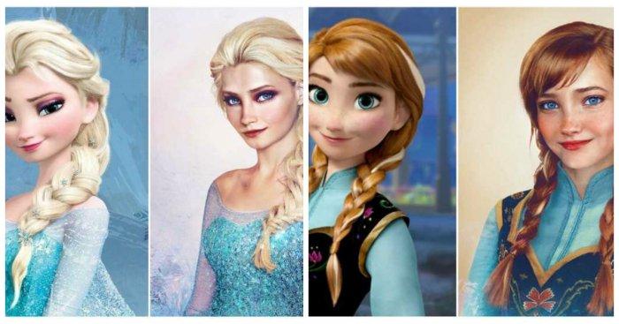 А Вы видели настоящих принцесс Диснея?