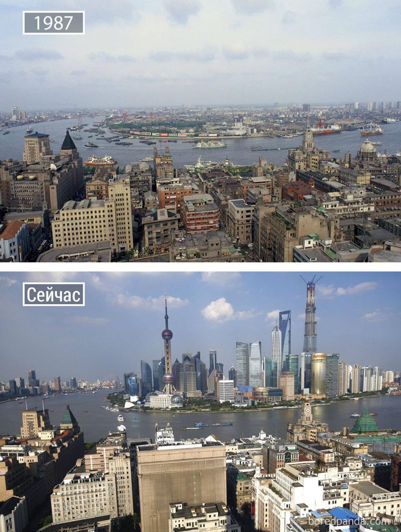 Эта подборка о том, как изменились со временем известные города мира