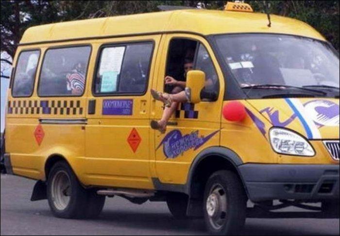 Все о чудиках в общественном транспорте!