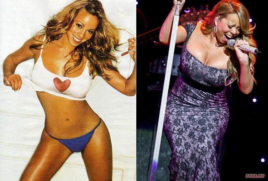 потолстевшие знаменитости фото