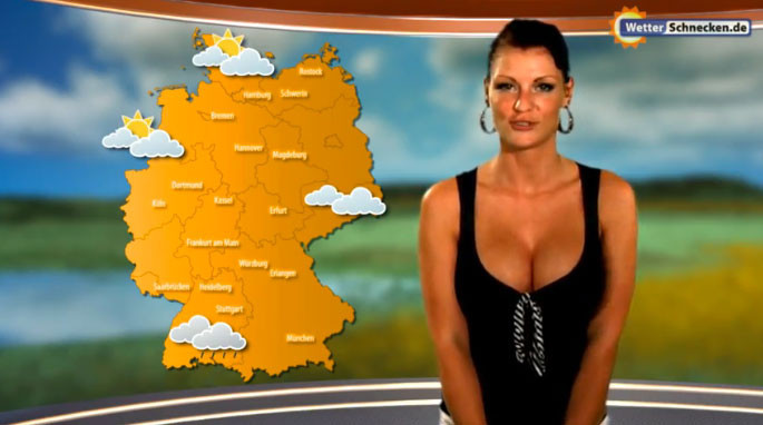 Weather channel woman nude — pic 4