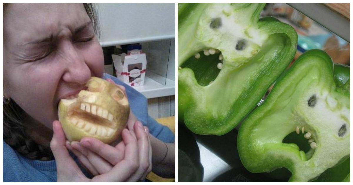 Не ешьте овощи, им больно!