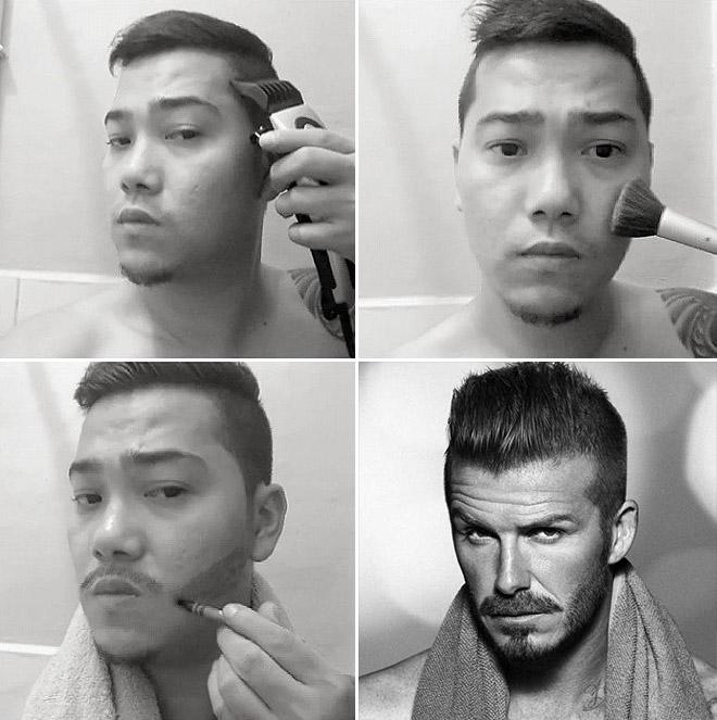Невероятные трансформации с помощью обычного макияжа