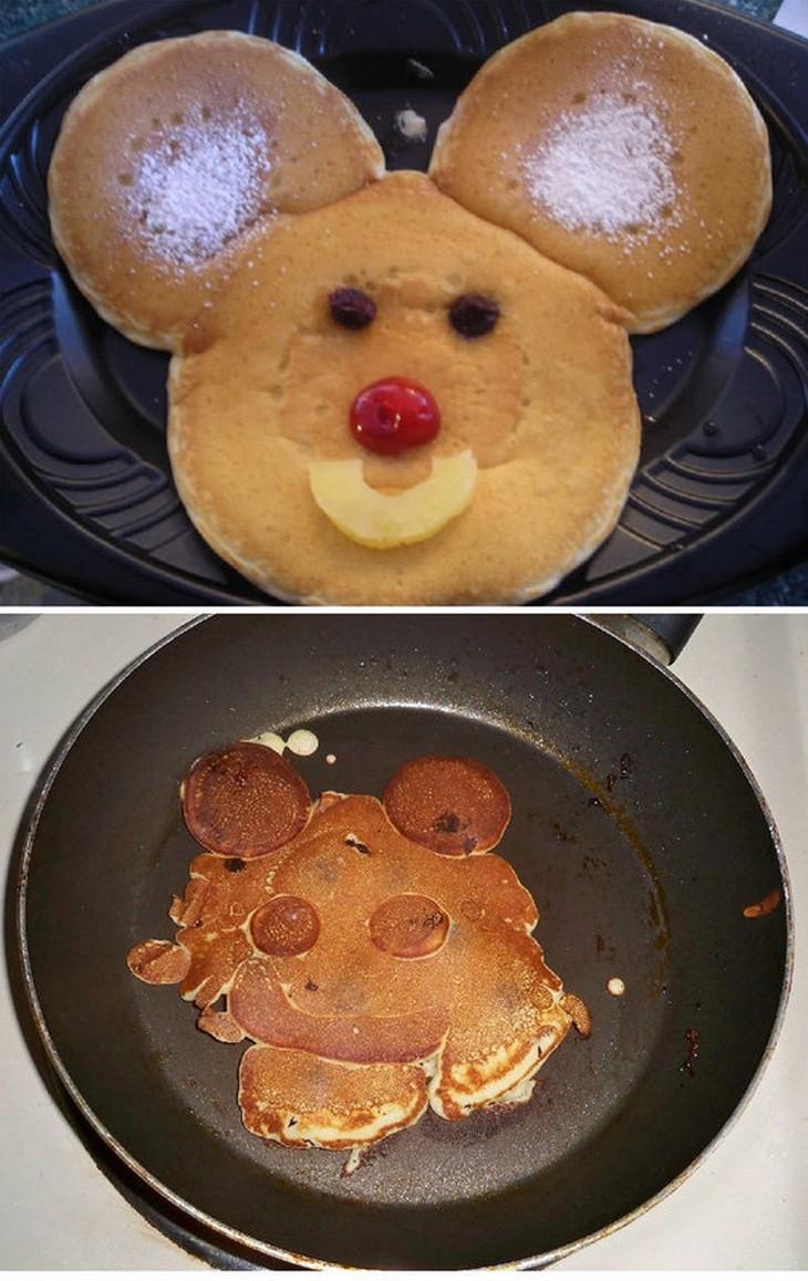 Практика показала, что кулинария не любит ошибок