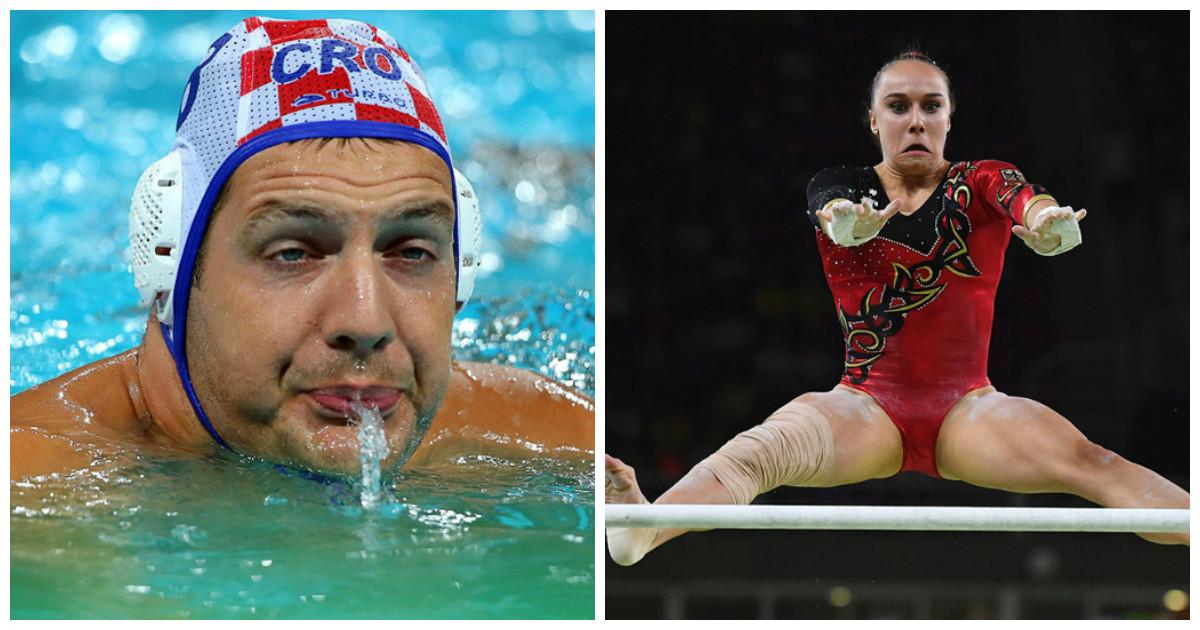 Такие фотогеничные спортсмены Олимпиады 2016