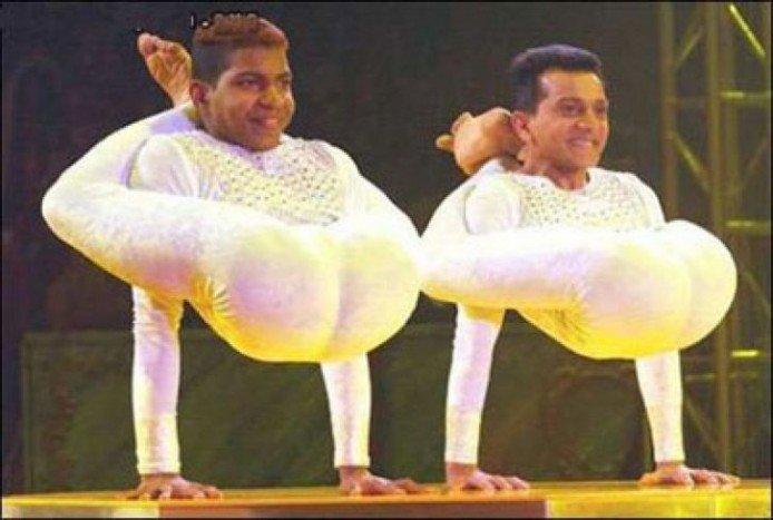 Мужчины и художественная гимнастика...Что может быть ужаснее?