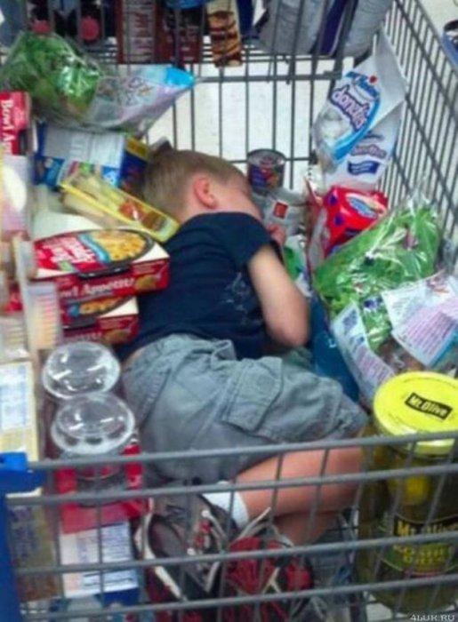 Все самое смешное о супермаркетах!