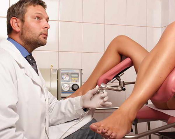 Редкое видео у гинеколога