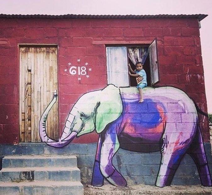 Нереально реалистичные граффити!