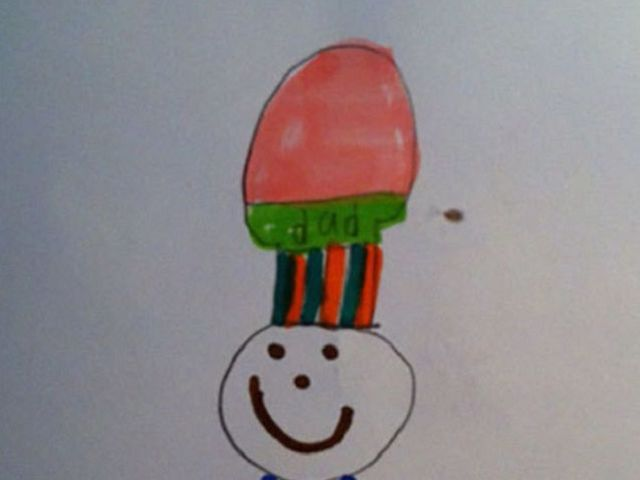 Детские рисунки, на которых взрослые не видят то, что задумывалось