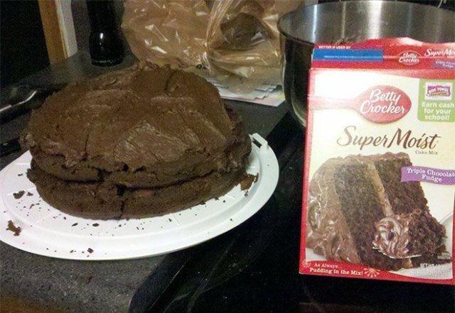 Неудачные попытки кулинарных шедевров!