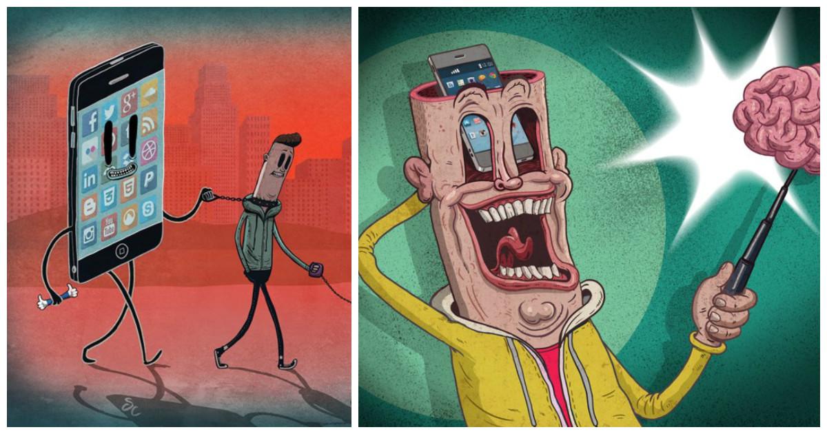 Иллюстраций, которые покажут современную цивилизацию без прикрас
