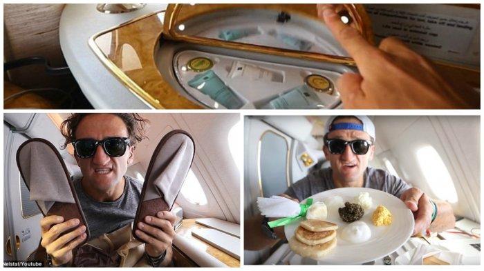 Хотите немного роскоши, тогда полетели! Как выглядит перелет из Дубая в Нью-Йорк первом классом, стоимостью 21 тысячу долларов