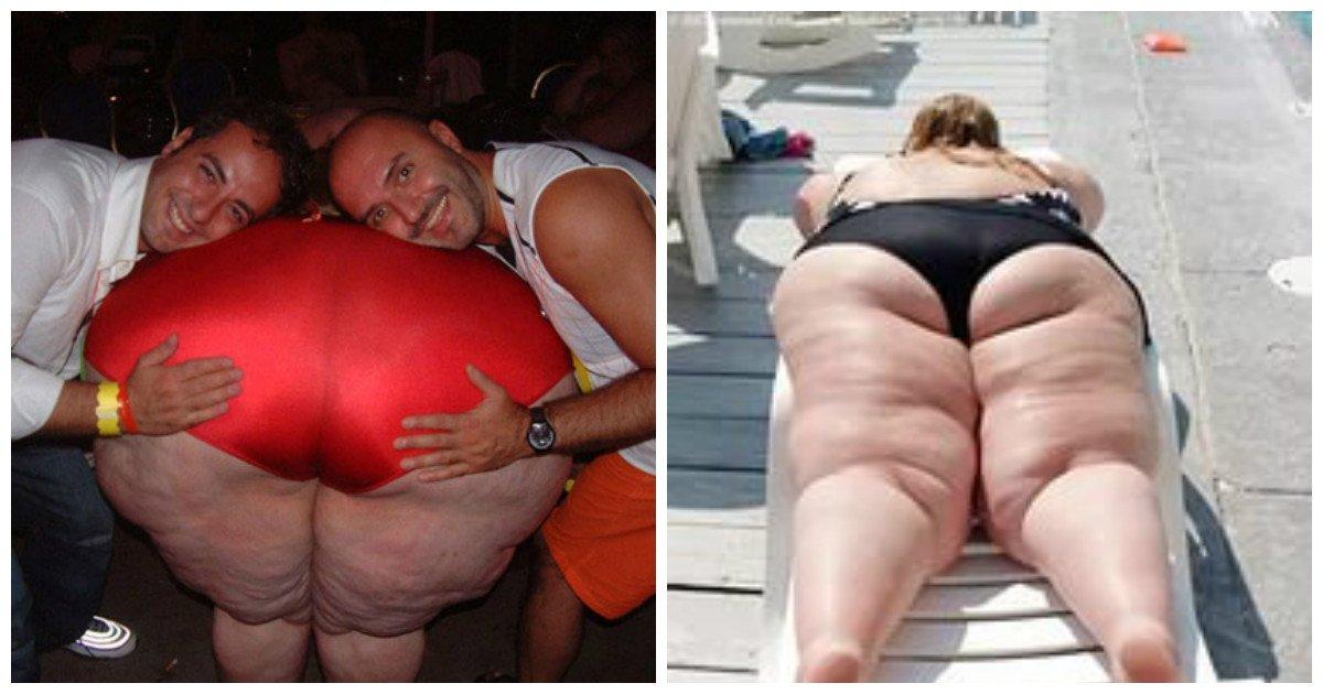 Анальные толстые жопы порно