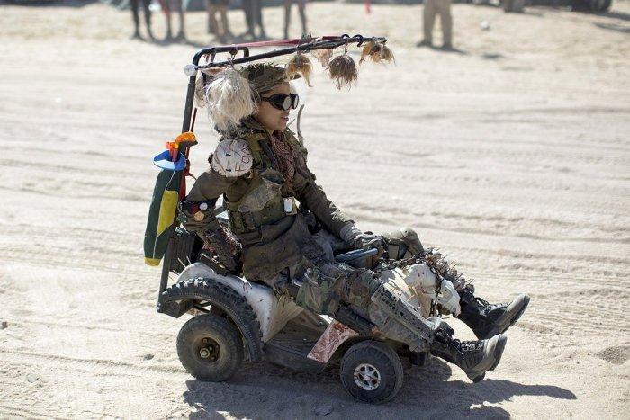 Вот как нужно отдыхать на выходных в пустыне