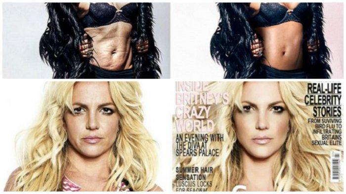 О! Великий фотошоп или 19 знаменитостей до и после ретуши.