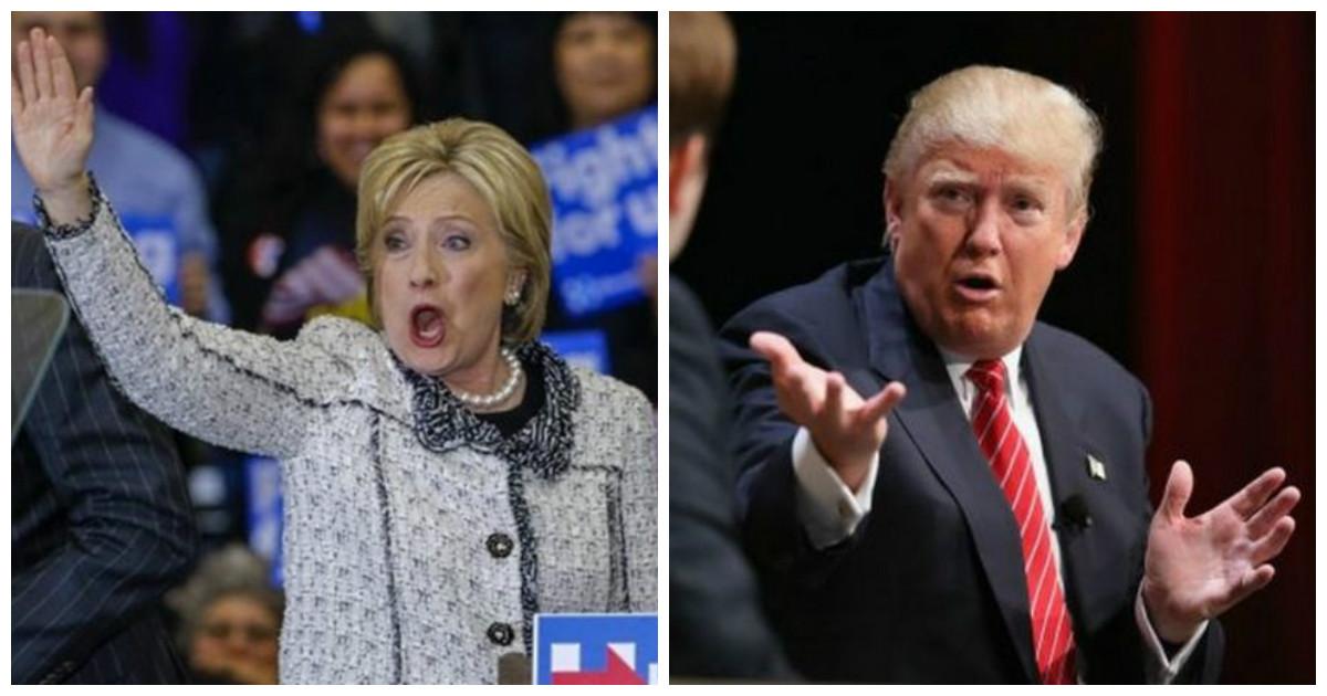 Меньшее из зол говорите? Вот вам несколько фактов из жизни Дональда Трампа и Хиллари Клинтон